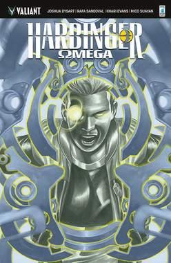 Copertina HARBINGER n.6 Var - OMEGA - Cover di Rafa SANDOVAL, STAR COMICS