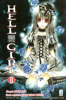 Copertina HELL GIRL n.8 - HELL GIRL 8 (m9), STAR COMICS