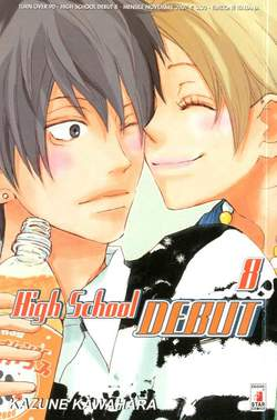 Copertina HIGH SHOOL DEBUT n.8 - HIGH SCHOOL DEBUT 8, STAR COMICS