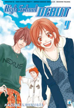 Copertina HIGH SHOOL DEBUT n.9 - HIGH SCHOOL DEBUT 9, STAR COMICS