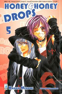 Copertina HONEY & HONEY DROPS (m8) n.5 - AMICI 145, STAR COMICS