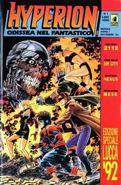 Copertina HYPERION n.1 - COPERTINA LUCCA '92, STAR COMICS
