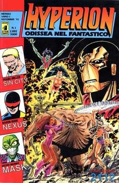 Copertina HYPERION n.1 - HYPERION                     1, STAR COMICS