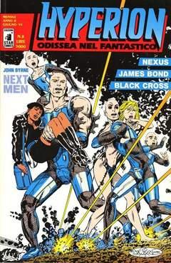 Copertina HYPERION n.8 - HYPERION                     8, STAR COMICS