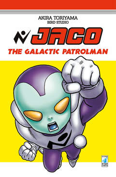 Copertina JACO n. - THE GALACTIC PATROLMAN, STAR COMICS