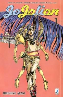 Copertina JOJOLION n.1 - JOJOLION 1, STAR COMICS