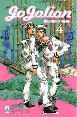 Copertina JOJOLION n.4 - JOJOLION 4, STAR COMICS