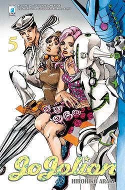 Copertina JOJOLION n.5 - JOJOLION 5, STAR COMICS