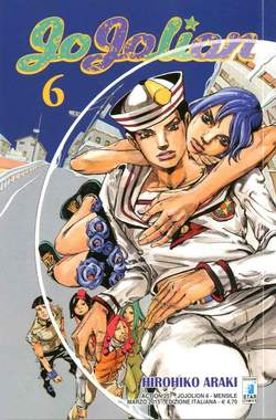 Copertina JOJOLION n.6 - JOJOLION 6, STAR COMICS