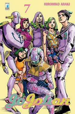 Copertina JOJOLION n.7 - JOJOLION 7, STAR COMICS