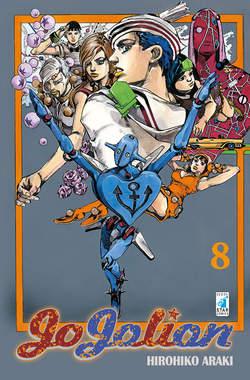 Copertina JOJOLION n.8 - JOJOLION 8, STAR COMICS