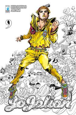 Copertina JOJOLION n.9 - JOJOLION 9, STAR COMICS