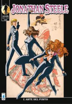 Copertina JONATHAN STEELE n.43 - L'ARTE DEL FURTO, STAR COMICS