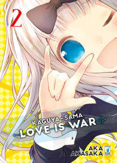 Copertina KAGUYA-SAMA: LOVE IS WAR n.2 - KAGUYA-SAMA: LOVE IS WAR 2, STAR COMICS