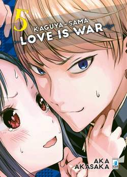 Copertina KAGUYA-SAMA: LOVE IS WAR n.5 - KAGUYA-SAMA: LOVE IS WAR 5, STAR COMICS