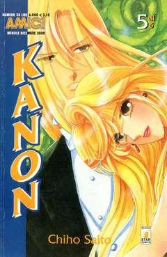 Copertina KANON n.5 - KANON 5, STAR COMICS
