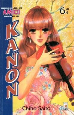 Copertina KANON n.6 - KANON 6, STAR COMICS