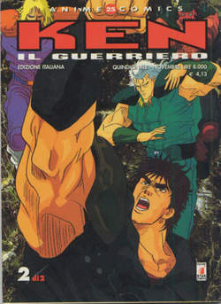 Copertina KEN IL GUERRIERO ANIME n.2 - KEN IL GUERRIERO 2, STAR COMICS