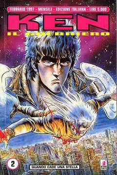 Copertina KEN IL GUERRIERO n.2 - KEN IL GUERRIERO             2, STAR COMICS