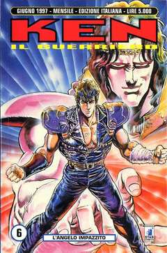 Copertina KEN IL GUERRIERO n.6 - KEN IL GUERRIERO             6, STAR COMICS