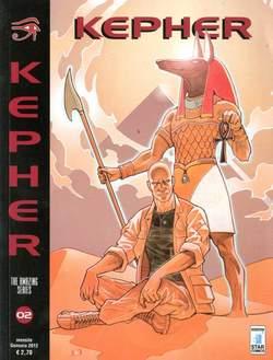 Copertina KEPHER n.2 - LO SGUARDO DI RA, STAR COMICS