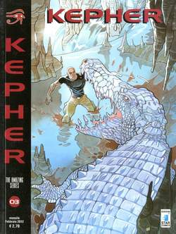 Copertina KEPHER n.3 - DJED, STAR COMICS