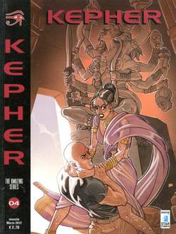 Copertina KEPHER n.4 - RESURREZIONE, STAR COMICS
