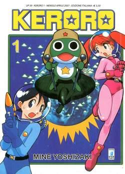 Copertina KERORO n.1 - KERORO, STAR COMICS