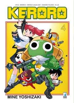 Copertina KERORO n.4 - KERORO, STAR COMICS