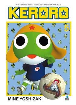 Copertina KERORO n.5 - KERORO, STAR COMICS
