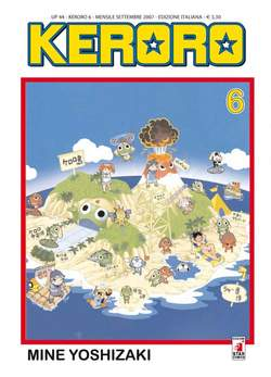Copertina KERORO n.6 - KERORO, STAR COMICS