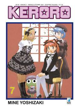 Copertina KERORO n.7 - UP 45, STAR COMICS