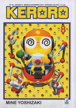Copertina KERORO n.8 - UP 46, STAR COMICS