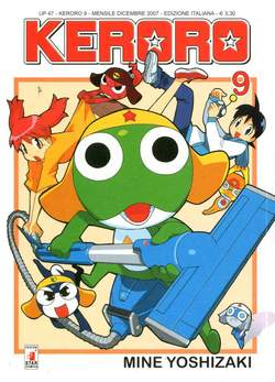 Copertina KERORO n.9 - UP 47, STAR COMICS