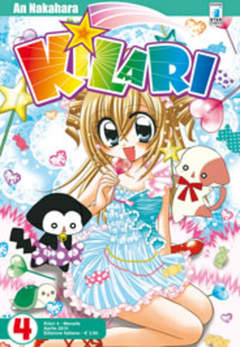 Copertina KILARI (m14) n.4 - KILARI, STAR COMICS