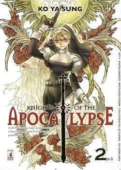 Copertina KNIGHTS OF THE APOCALYPSE n.2 - KNIGHTS OF THE APOCALYPSE 2 (m3), STAR COMICS