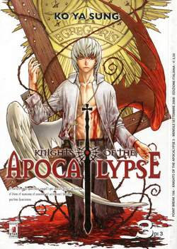 Copertina KNIGHTS OF THE APOCALYPSE n.3 - KNIGHTS OF THE APOCALYPSE 3, STAR COMICS
