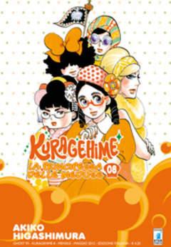 Copertina KURAGEHIME n.8 - LA PRINCIPESSA DELLE MEDUSE, STAR COMICS