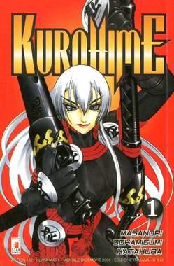 Copertina KUROHIME MAGICAL GUNSLINGER n.1 - KUROHIME 1, STAR COMICS