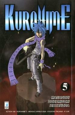 Copertina KUROHIME MAGICAL GUNSLINGER n.5 - KUROHIME 5, STAR COMICS