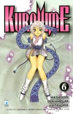 Copertina KUROHIME MAGICAL GUNSLINGER n.6 - KUROHIME 6, STAR COMICS