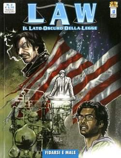 Copertina LAW n.2 - FIDARSI E' MALE, STAR COMICS