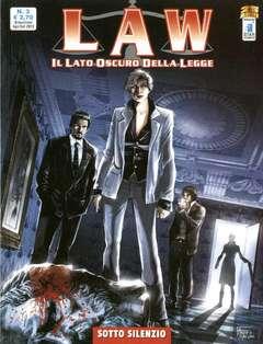 Copertina LAW n.3 - SOTTO SILENZIO, STAR COMICS