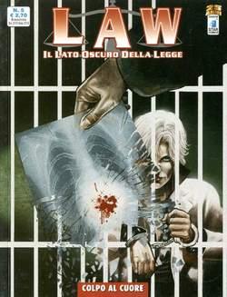 Copertina LAW n.5 - COLPO AL CUORE, STAR COMICS