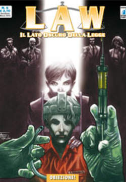 Copertina LAW n.6 - OBIEZIONE!, STAR COMICS