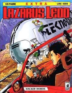 Copertina LAZARUS LEDD EXTRA n.1 - HACKER HOBOS, STAR COMICS