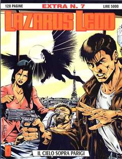 Copertina LAZARUS LEDD EXTRA n.7 - IL CIELO SOPRA PARIGI, STAR COMICS