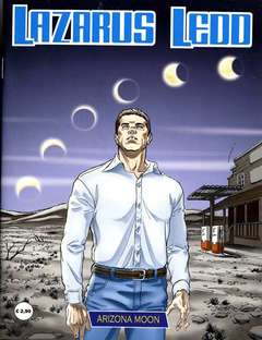 Copertina LAZARUS LEDD n.FS 1 - ARIZONA MOON, STAR COMICS