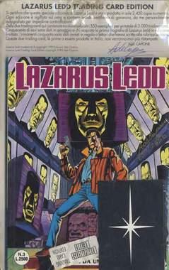 Copertina LAZARUS LEDD n.3 - LAZARUS LEDD N 3 AUTOGRAFATO CON CARD, STAR COMICS