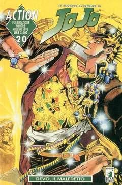 Copertina LE BIZZARRE AVVENTURE DI JO JO n.20 - JO JO, STAR COMICS